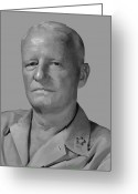 Theater Digital Art Greeting Cards - Admiral Chester Nimitz Greeting Card by War Is Hell Store