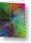 Storm Digital Art Greeting Cards - After The Rain  Greeting Card by Tim Allen