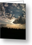 Ble Sky Greeting Cards - After The Storm Greeting Card by Michelle Compton