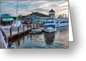 Acrylic Print Greeting Cards - Alexandria Waterfront I Greeting Card by Steven Ainsworth
