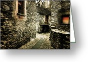 Passage Greeting Cards - Alley Greeting Card by Joana Kruse