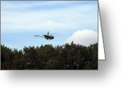 Belgian Army Greeting Cards - Alouette Ii Of The Belgian Army Greeting Card by Luc De Jaeger