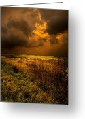 Natur Greeting Cards - An Autumn Storm Greeting Card by Phil Koch
