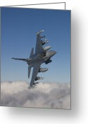 Armament Greeting Cards - An F-16 Maneuvers During A Training Greeting Card by HIGH-G Productions