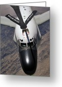 Rivet Greeting Cards - An Rc-135 Rivet Joint Reconnaissance Greeting Card by Stocktrek Images