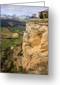Escarpment Greeting Cards - Andalusia Landscape Greeting Card by Artur Bogacki