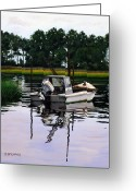 Rick Mckinney Greeting Cards - Apalach Greeting Card by Rick McKinney