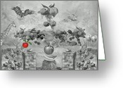 Melon Greeting Cards - Apple of knowledge Greeting Card by Manfred Lutzius