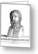 4th Greeting Cards - ARISTOPHANES (c450-c388 B.C.) Greeting Card by Granger