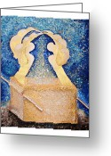 Ark Of The Covenant Greeting Cards - Ark of the Covenant  Greeting Card by Alisa Poplavskaya