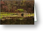 Arkansas Greeting Cards - Arkansas Tranquility Greeting Card by Benjamin Yeager