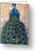Feathers Greeting Cards - At The Gates Greeting Card by Mark M  Mellon