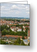Bamberg Greeting Cards - Bamberg Greeting Card by Design Windmill