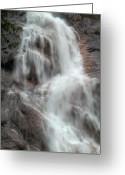 B.c Greeting Cards - B.C. Waterfalls 1 Greeting Card by David  Naman
