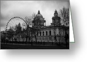 City Hall Greeting Cards - Belfast City Hall Greeting Card by Joe Fox