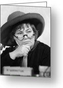 Civil Rights Greeting Cards - Bella Abzug (1920-1998) Greeting Card by Granger