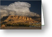 Black Mesa Greeting Cards - Black Mesa Greeting Card by Keith Kapple