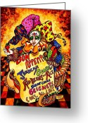 Cajun Greeting Cards - Bon Appetit Greeting Card by Sherry Dole
