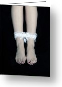 Bare Legs Greeting Cards - Bonded Legs Greeting Card by Joana Kruse