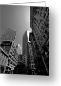 Cityspace Greeting Cards - Boston Greeting Card by Jason Smith