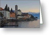 Travelling Greeting Cards - Brissago - Ticino Greeting Card by Joana Kruse