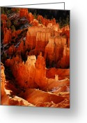Rock Formations Greeting Cards - Bryce Canyon Greeting Card by Harry Spitz