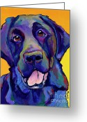 Hunting Dogs Greeting Cards - Buddy Greeting Card by Pat Saunders-White