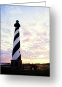 Second Greeting Cards - Cape Hatteras Lighthouse Greeting Card by Thomas R Fletcher