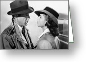 Film Still Greeting Cards - Casablanca, 1942 Greeting Card by Granger