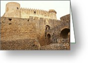 Cityhall Greeting Cards - Castle Of Santa Severina Greeting Card by Gualtiero Boffi