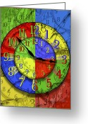 Vibrant Colors Greeting Cards - Changing Times Greeting Card by Mike McGlothlen
