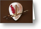 Candy Bars Greeting Cards - Chocolate Praline Greeting Card by Joana Kruse