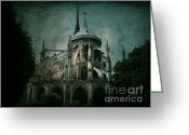 Paris Greeting Cards - Citadel Greeting Card by Andrew Paranavitana