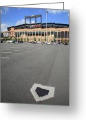 Shea Stadium Greeting Cards - Citi Field - New York Mets Greeting Card by Frank Romeo