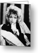 Starlet Greeting Cards - Clara Bow (1905-1965) Greeting Card by Granger