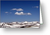 Rocky Mountains Greeting Cards - Colorado Greeting Card by Amanda Barcon