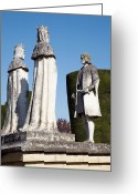 Monarchs Greeting Cards - Columbus Monument, Cordoba Greeting Card by Sheila Terry