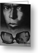 African American Art Drawings Greeting Cards - Cool Greeting Card by Adrian Pickett