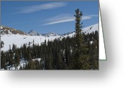 "\""colorado Resort\\\"" Greeting Cards - Copper Mountain Resort - Colorado Greeting Card by Brendan Reals"