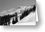 "\""colorado Resort\\\"" Greeting Cards - Copper Mountain Resort - Union Bowl - Colorado Greeting Card by Brendan Reals"