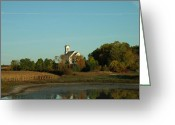 Sanctified Greeting Cards - Country Church Dawn Greeting Card by Brian  Maloney