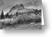 Lakota Greeting Cards - Crazy Horse Monument Greeting Card by Geary Barr