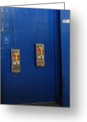 Shea Stadium Photo Greeting Cards - Curios Greeting Card by Frank Romeo