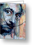 Icon  Painting Greeting Cards - Dali Greeting Card by Paul Lovering
