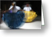 Dances Greeting Cards - Dance Greeting Card by Kurt Van Wagner