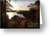 Fall Nature Greeting Cards - Dawn at Algonquin Park Canada Greeting Card by Oleksiy Maksymenko