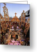 Ancestors Greeting Cards - Day of the Dead Altar Greeting Card by Jeremy Woodhouse
