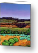 Vibrant Colors Greeting Cards - Desert Gorge Greeting Card by Johnathan Harris