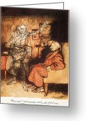Rackham Greeting Cards - Dickens: A Christmas Carol Greeting Card by Granger