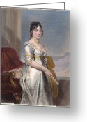 (first Lady) Greeting Cards - Dolley Payne Todd Madison Greeting Card by Granger